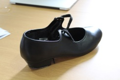 Geraldine's tap shoe