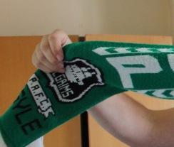 Jon's Plymouth Argyle scarf