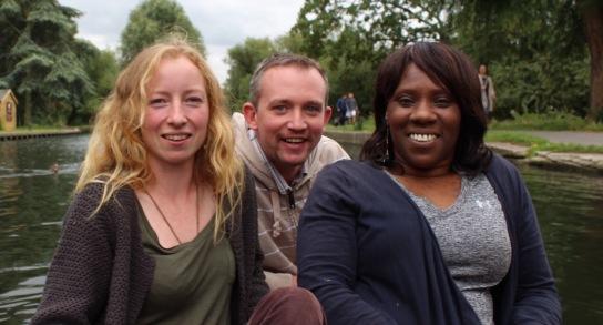 Sarah, Jon and Geraldine