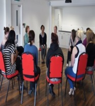 Geraldine's intergenerational drama workshop
