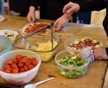 ESRC food event - making together