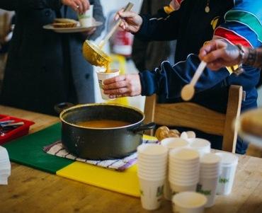 ESRC event - sharing food